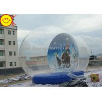 Cheap Outdoor Decoration Christmas Inflatable Advertising Snow Globe for sale