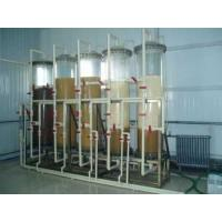 Cheap Food Grade Industrial Steam Deaerator , Ion Exchange Industrial Water Treatment Plant for sale