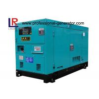 Cheap 3 Phase 12.5KVA Silent Diesel Generator Set with Stamford Alternator , 1500RPM Perkins Engine for sale