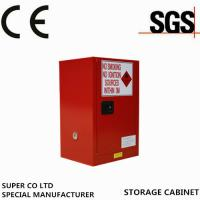 Cheap Metal Portab Chemical Storage Cabinet With Single Door / Flammable Safety Cabinet for sale