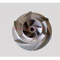Buy cheap open impeller investment castings pump parts material is stainless steel from wholesalers