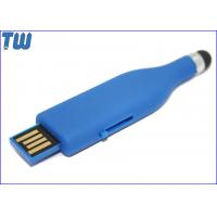 Cheap Rubber Oil Finished 8GB USB Memory Stick Slip UDP Chip Soft Touch for sale