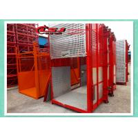 Cheap Man And Material Construction Elevator Double Cage Overload Protection wholesale