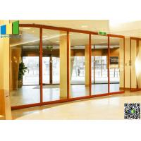 Cheap Sliding Aluminum Glass Partitions Wall 10 mm Glass for Home for sale