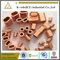 Cheap COPPER WIRE ROPE FERRULES for sale