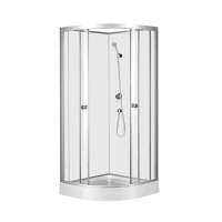 Buy cheap 900*900*2150mm Aluminium Alloy Frame Toughened Glass Shower Cabin from wholesalers