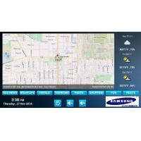 how to change location android tablet screen