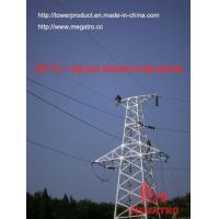 Quality megatro 220KV 2A2 J1 single circuit transmission line lattice steel tower wholesale