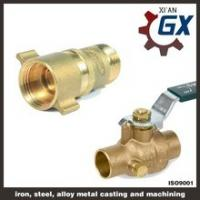 Buy cheap Cast NPT Full Port Private Label on Handle Male Thread Brass Ball Valve from wholesalers