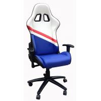 Cheap Durable PU Leather Adjustable Office Chair For Work , Study , Rest And Sleep wholesale