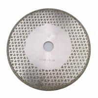 Cheap 7 Inch Electroplated Diamond Cutting & Grinding Blade Both Side Coated For Granite Marble for sale
