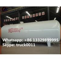 Cheap hot sale ASME standard 20 metric tons surface lpg gas storage tank,  factory sale best price lpg gas storage tank for sale