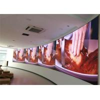 Cheap Flexible HD LED Video Wall P2.5 900 Nits High Refresh Front Access Maintenance for sale