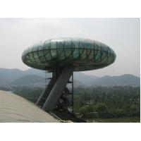 Cheap National Wetland Museum Sightseeing Tower double toughened safety glass for sale
