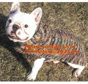 Cheap Knit Pet Sweater, Custom Knit Dog Sweater, hand knit dog sweaters, Dog Knitting Wool for sale