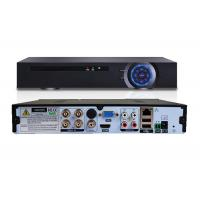 Cheap Desktop 4 Channel Digital Video Recorder , H.264 NVR 3 In 1 Video Recorder Android OS for sale