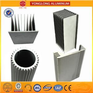 Cheap Sound Insulation Aluminum Heatsink Extrusion Profiles Better Stiffness for sale