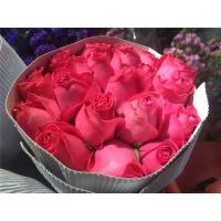China 2019 high quality wholesale fresh cut FLOWER in bulk for sale rose for wedding pink rose flower best selling on sale