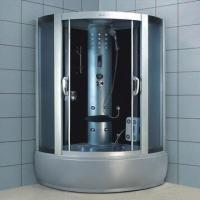 Cheap Steam Shower Room with ABS Tray and Aluminum Alloy Frame for sale