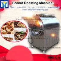 Cheap automatic electric/gas groundnut roaster machine kinds of nuts nut roaster for sale