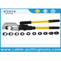 Buy cheap Hand Operated Hydraulic Crimping Tools for Crimping Copper / Aluminum Cable Lug from wholesalers