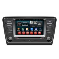 Cheap BT Radio 2014 Volkswagen Skoda Octavia A7 Central Multimidia GPS with GARMIN PAPAGO NAVITAL maps for sale