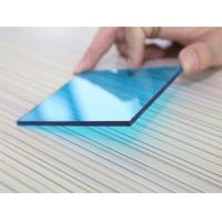 Cheap 3mm Impact Resistant Polycarbonate Sheet , Blue Polycarbonate Sheet For Construction for sale
