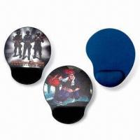 Cheap Mouse Pads with Arm Rest, Made of Neoprene and Cloth, Measures 220 x 180 x 2mm for sale