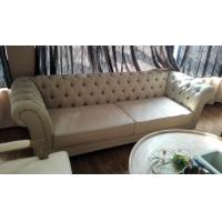 French Style Linen Fabric Sofa Provincial Sofa Country