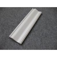 Cheap Embossed Foam PVC Skirting Board / Chair Rail 15mm Thickness Moisture Proof for sale
