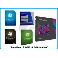 Buy cheap 64 bit Microsoft Windows Softwares windows 7 32 bit ultimate Retail Box from Wholesalers