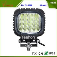 Cheap Back Cover Replacable 48W LED Work Light Made of Genuine CREE LED Chips for sale