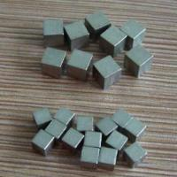 Cheap tungsten cube for clump weight for sale