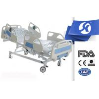 Buy cheap Professional Big Railing Electric Hospital Medical Bed With Nursing Panel from Wholesalers