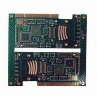 Cheap Multilayer PCB with Immersed Ni/Au and BGA Surface Treatment and 1.6mm Board Thickness for sale