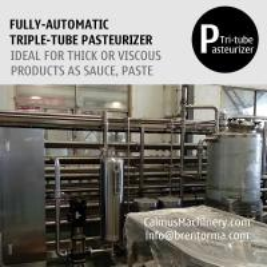 Cheap 5000L/H Fully-automatic Triple-Tube Sterilization Machine Tubular Pasteurizer for sale