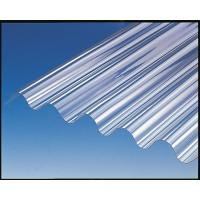 Cheap Bayer / GE Polycarbonate Sheet , Corrugated Greenhouse Panels High Strength for sale