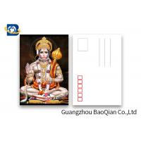 Cheap 5D Effect Indian God 3D Lenticular Postcards For Souvenirs/ Promotional Gift for sale