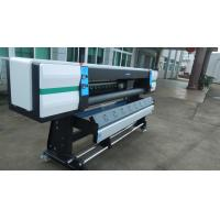 Cheap 1.8m High Speed Eco Solvent Printer with 4pcs Epson XP600 DX6 Heads Over 70m²/h for sale