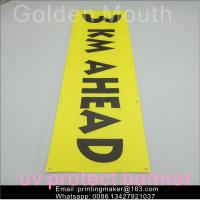 China Outdoor Large Format Banner Printing Service on sale