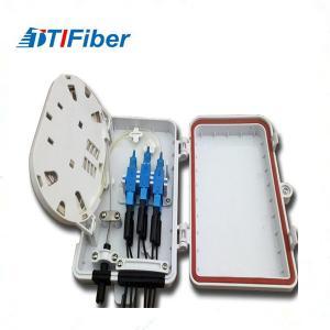 China FTTH Optical Fiber Distribution Box , Fiber Optic Splitter Terminal Box 6 8 12 24 48 Port on sale