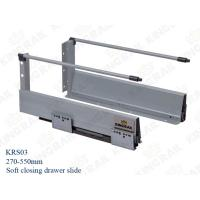 Cheap New silence soft closing kitchen drawer slides Runner KRS03 for sale
