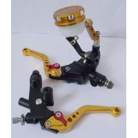 Cheap CEM Motorcycle Spare Parts , Universal CNC Handle Lever For Honda / Yamaha for sale