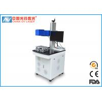 Cheap 20W / 30W 3D Laser Marking Machine 1064nm With Rotating System for sale