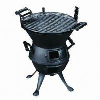 Cheap Cast Iron BBQ Grill/Cast Iron Chimenea, Durable to Use for sale