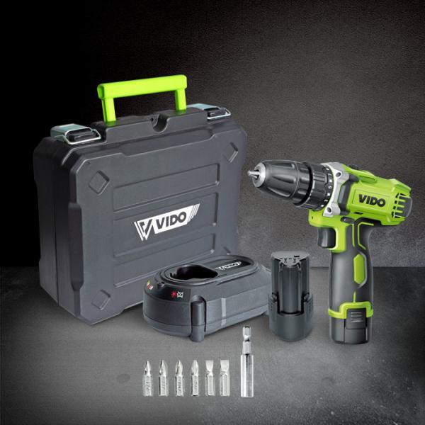 Quality 10mm Chuck 25Nm 12V 2000mA Cordless Drill Power Tools wholesale