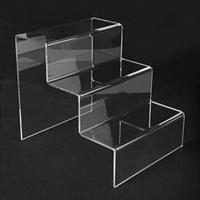 Cheap Acrylic display stand, various sizes\silkscreen logos available, suitable for promotional products for sale