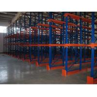 China Metal double side Drive In Pallet Racking for cold store , pallet Shelving Racks on sale