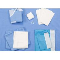 Cheap Universal Size Disposable Surgical Packs Delivery Baby Birth Kit SMS / Two Layers Lamination for sale