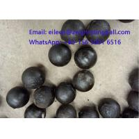Cheap High Chrome Cr 10% Cast Iron Steeel Balls for mining grinding for sale